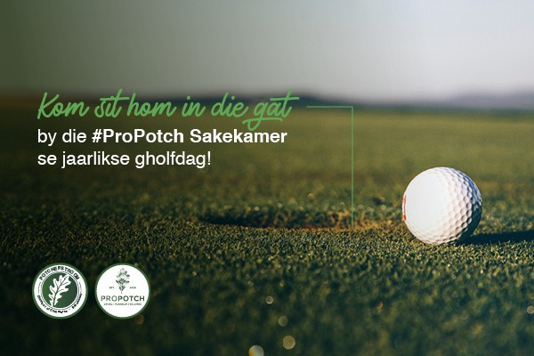 #ProPotch Sakekamer Gholfdag